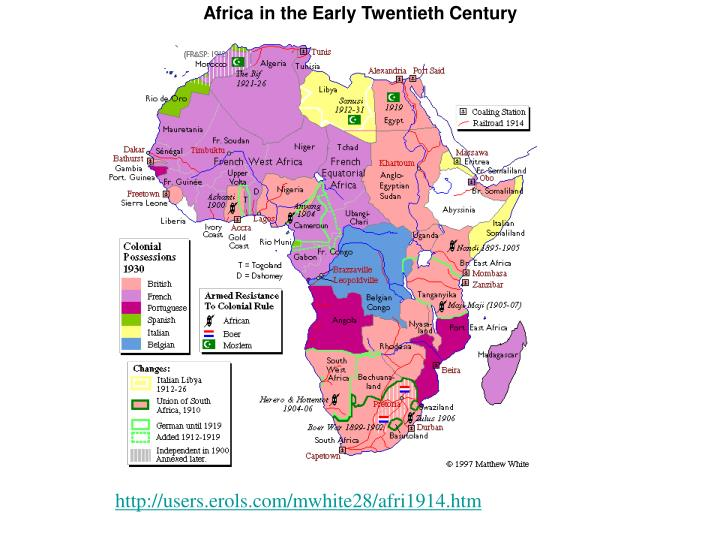 Africa in the Early Twentieth Century