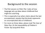 background to the session