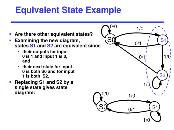 Equivalent State Example