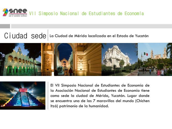 VII Simposio Nacional de Estudiantes de Economía
