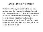 angel interpretation
