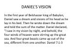 daniel s vision