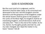 god is sovereign2