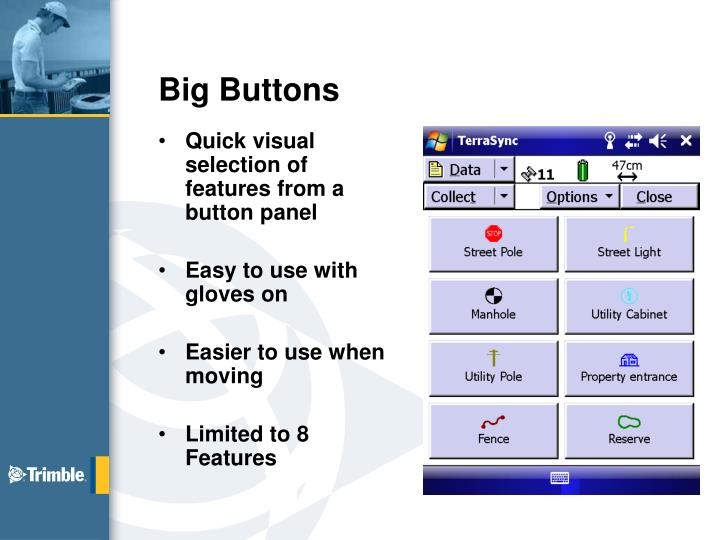 Big buttons