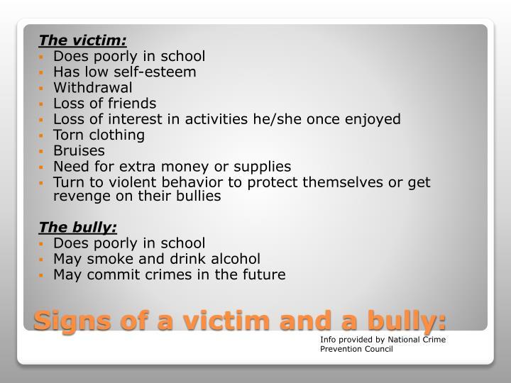 The victim: