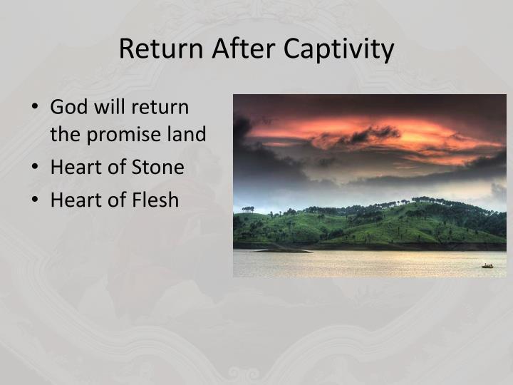 Return After Captivity