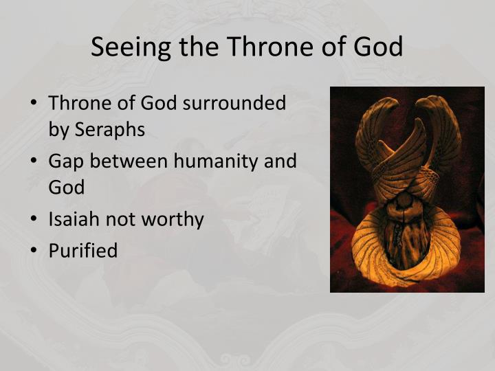 Seeing the Throne of God