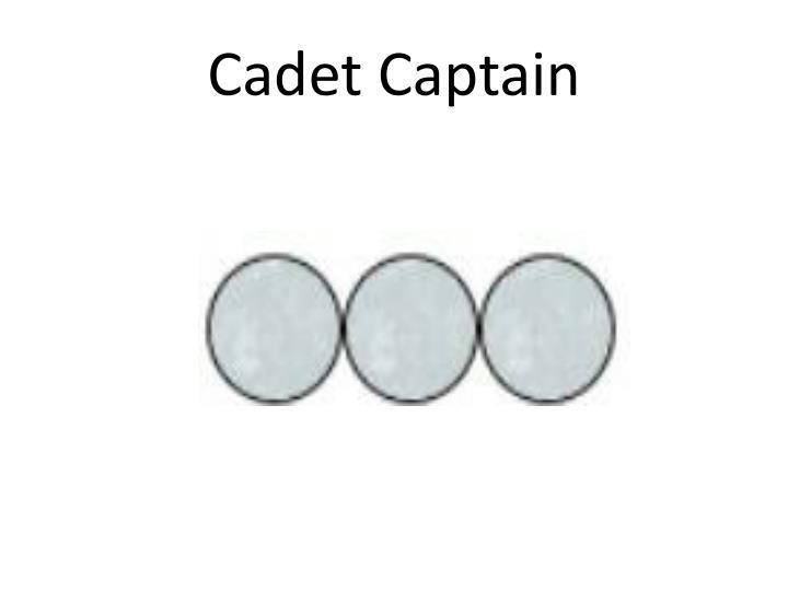 Cadet Captain