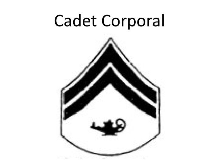 Cadet Corporal