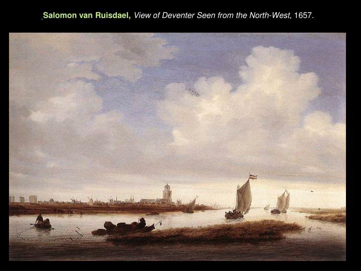 Salomon van Ruisdael,