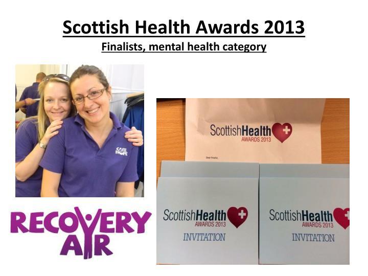 Scottish Health Awards 2013