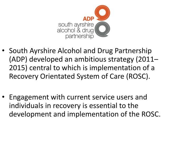 South Ayrshire Alcohol and Drug Partnership (