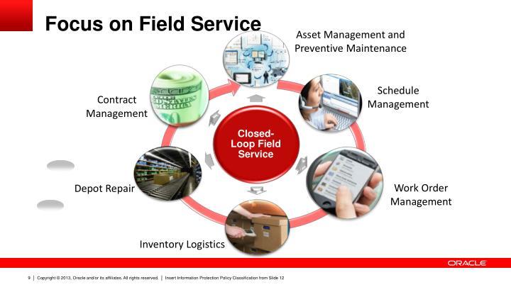 Focus on Field Service