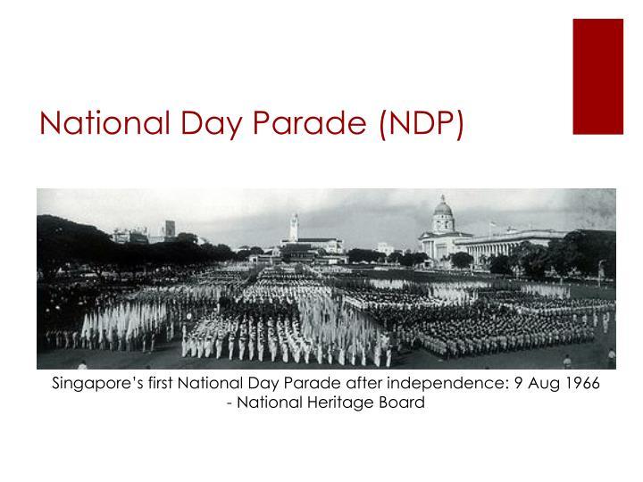 National Day Parade (NDP)