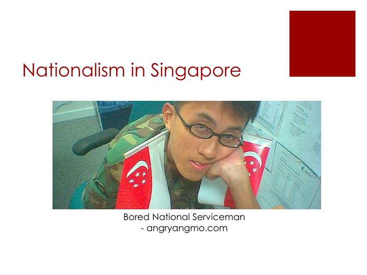 Nationalism in Singapore