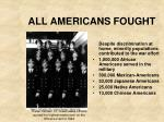 all americans fought