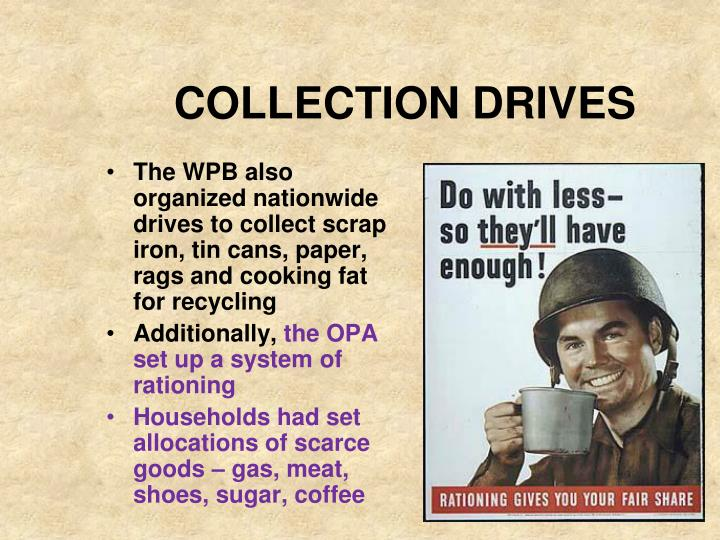 COLLECTION DRIVES
