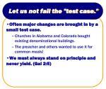 let us not fail the test case3