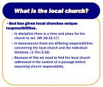 what is the local church13