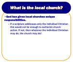 what is the local church14