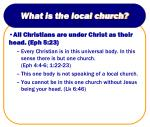 what is the local church3