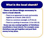 what is the local church8