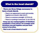 what is the local church9