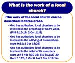 what is the work of a local church14