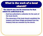 what is the work of a local church5