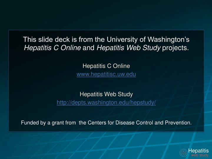 This slide deck is from the University of Washington's