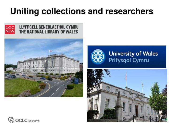 Uniting collections and researchers