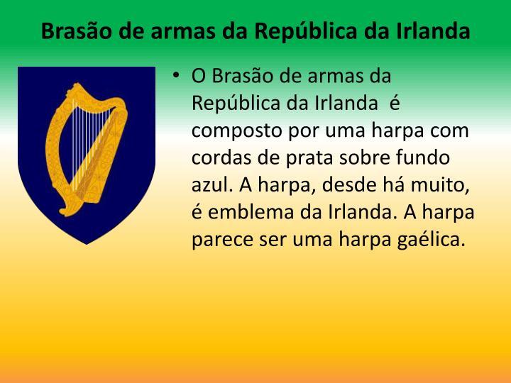 Brasão de armas da República da Irlanda