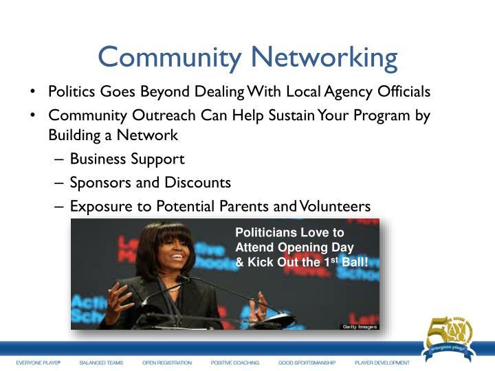 Community Networking