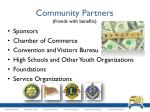 community partners friends with benefits