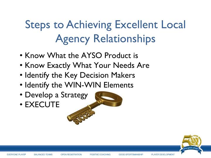 Steps to Achieving Excellent Local Agency Relationships