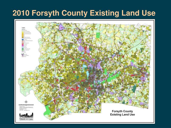 2010 Forsyth County Existing Land Use