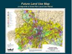 future land use map composite of area plan land use plans