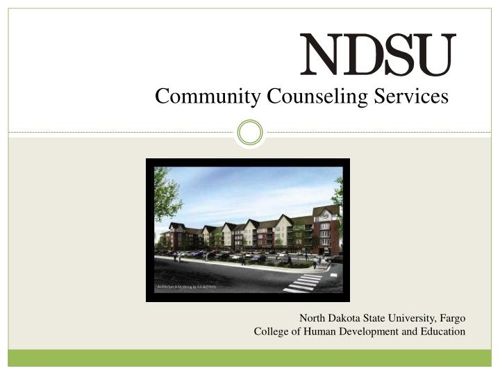 Community Counseling Services