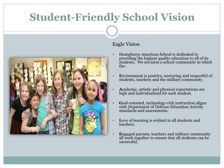 Student-Friendly School Vision