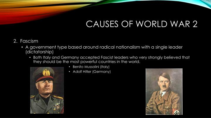 Causes of World War 2