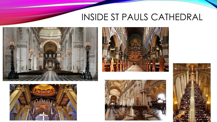 Inside ST Pauls Cathedral