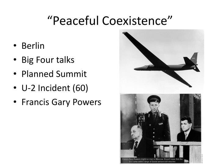 """Peaceful Coexistence"""