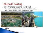 phenolic coating