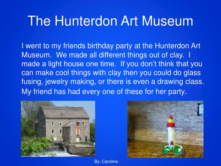 The Hunterdon Art Museum