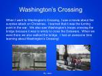 washington s crossing