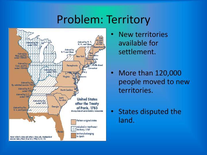 Problem: Territory