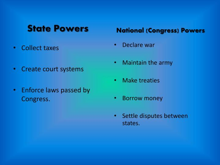 State Powers