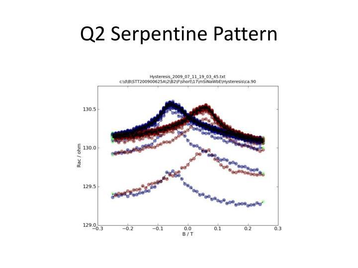 Q2 Serpentine Pattern