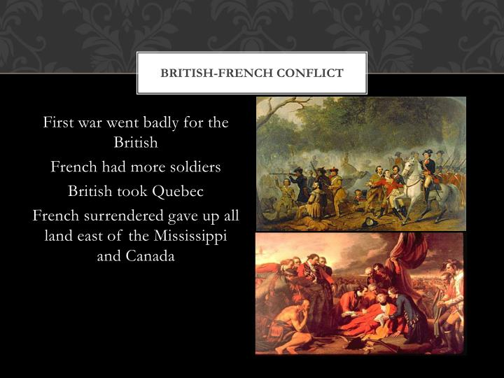 British-French Conflict