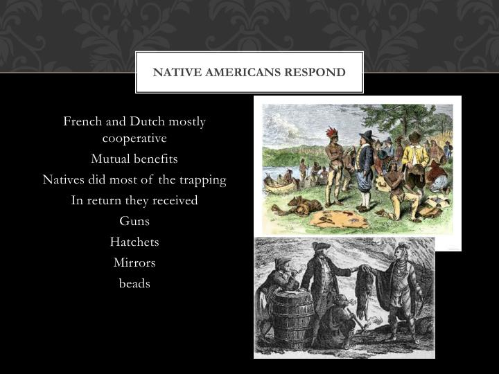Native Americans Respond